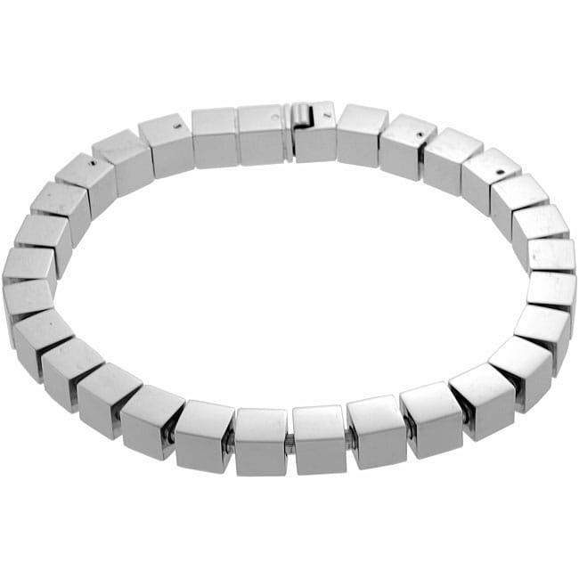 Surgical Steel Square Bracelet