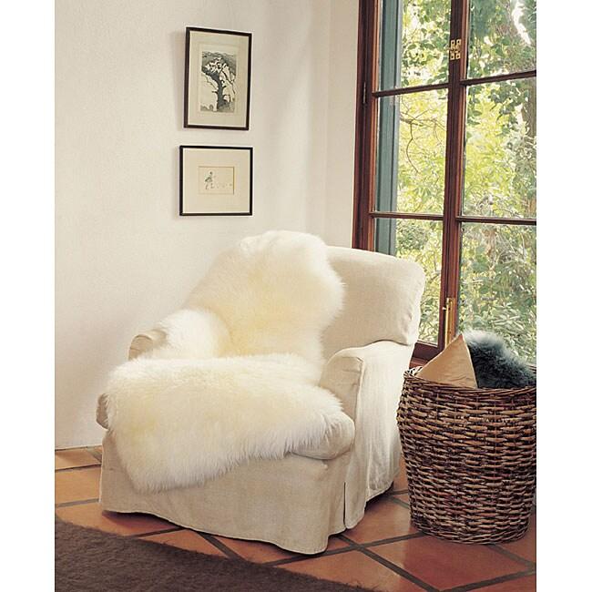 Bowron Sheepskin Wool 3-piece Throw (2' x 6')