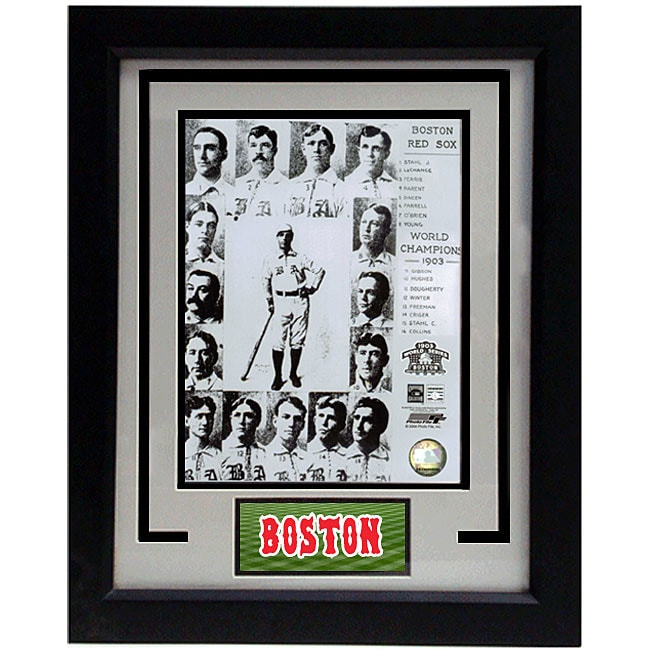 Boston Red Sox Team 1903 11x14 Deluxe Frame Print