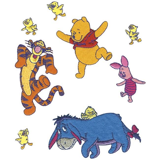 Winnie the Pooh Iron-on Needlework Appliques