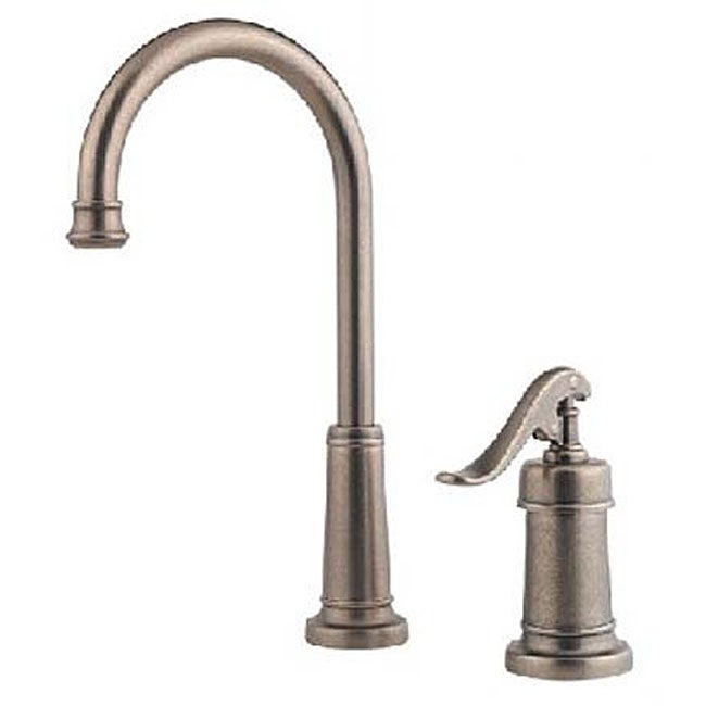 price pfister ashfield kitchen faucet price pfister ashfield pewter kitchen bar faucet 25505
