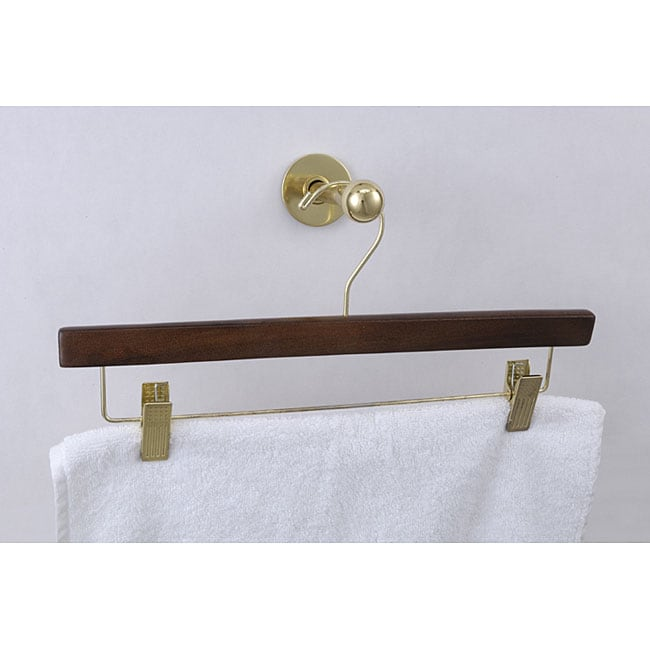 Allied Brass Pull Out Garment And Closet Rod