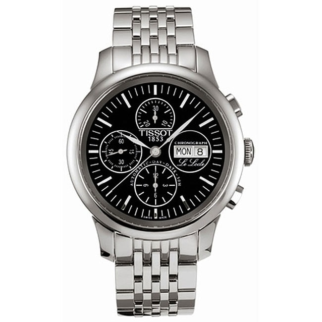 f6b7041b782 Shop Tissot Le Locle Men s Automatic Chronograph Watch - Free Shipping  Today - Overstock.com - 3324491