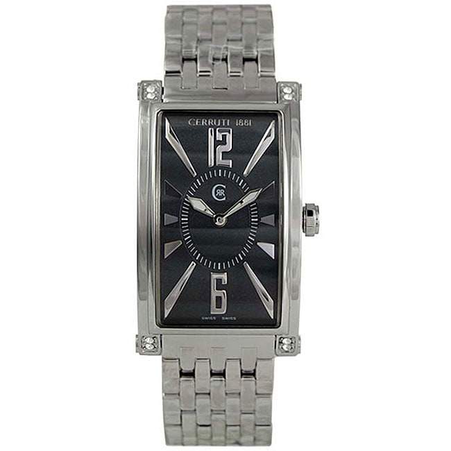 8d2036a3b3 Shop Cerruti 1881 Women's Genova Donna Steel Watch - Free Shipping Today -  Overstock - 3342832