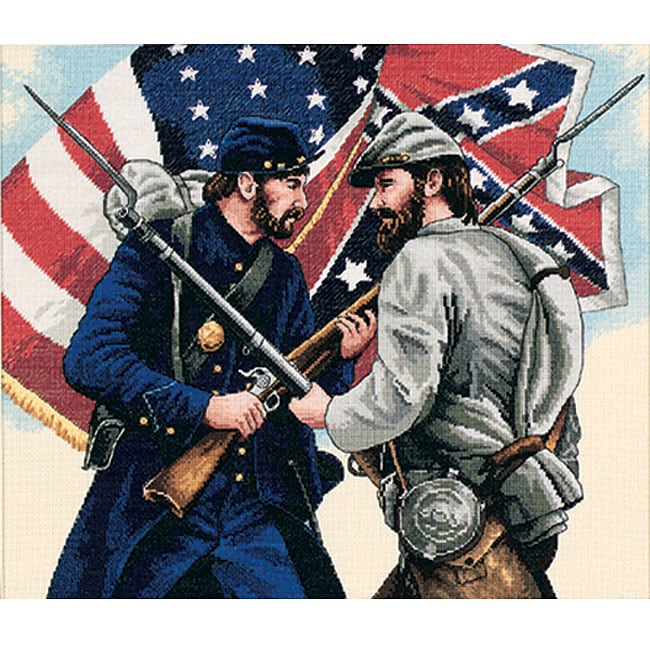 Gettysburg Counted Cross Stitch Kit