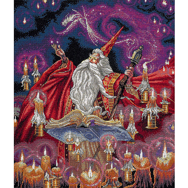 Scarlet Wizard Counted Cross Stitch Kit