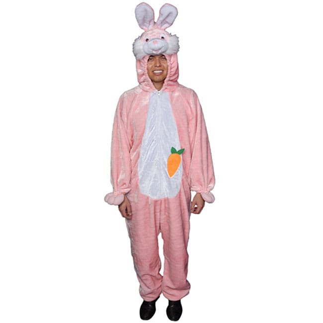 Shop Adult Pink Easter Bunny Costume   Free Shipping Today   Overstock    3345817