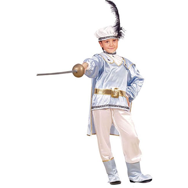 Dress Up America Prince Charming Costume (Toddler 4T), Bo...