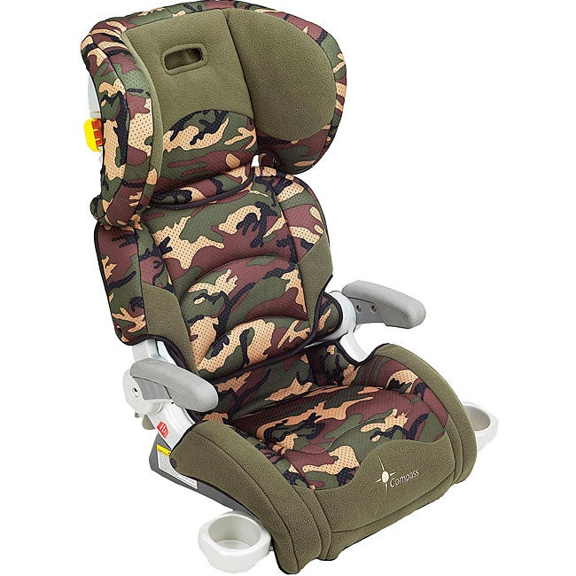 Compass Deluxe Adjustable Booster Seat In Camouflage