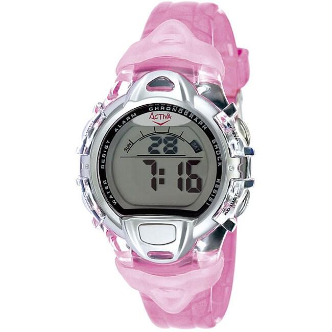 Activa by Invicta Women's Pink Digital Watch