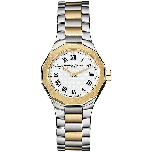 Baume & Mercier Riviera Women's Two-tone Watch
