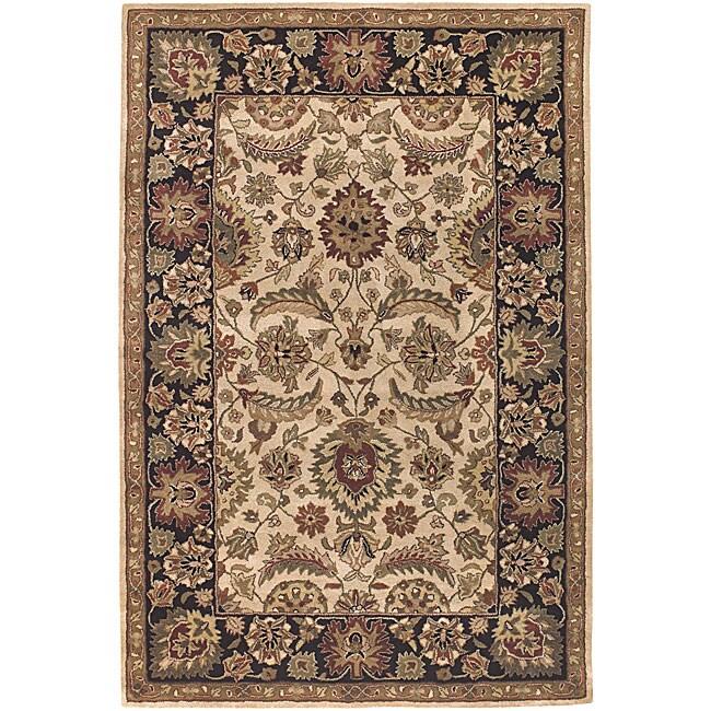 "Artist's Loom Hand-tufted Traditional Oriental Wool Rug - 7'9"" x 10'6"""