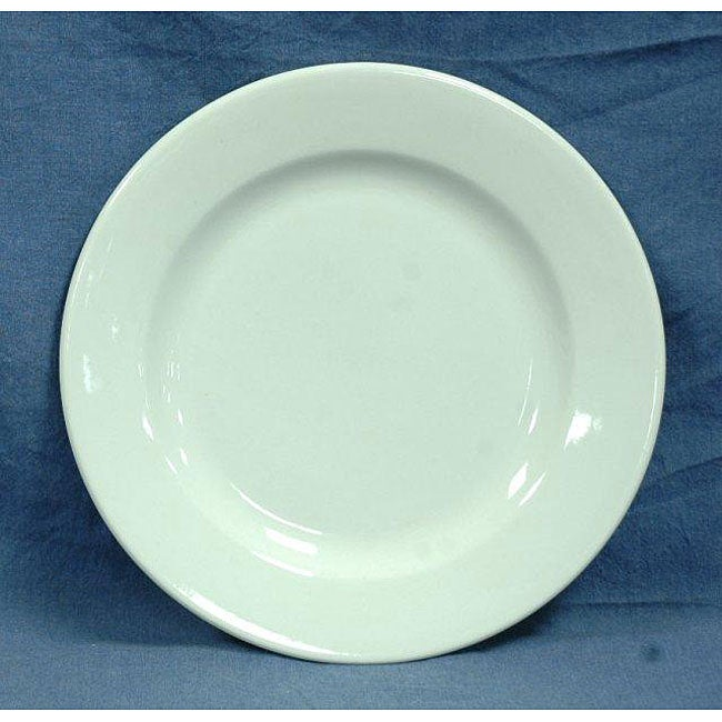 Shop Oneida Rego Royal 24 Piece White Dinner Plate Set