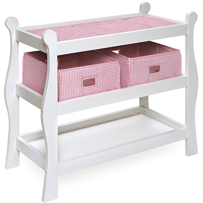 Dolls Changing Table Hape Baby Doll Wooden Pretend Parent Play New Change