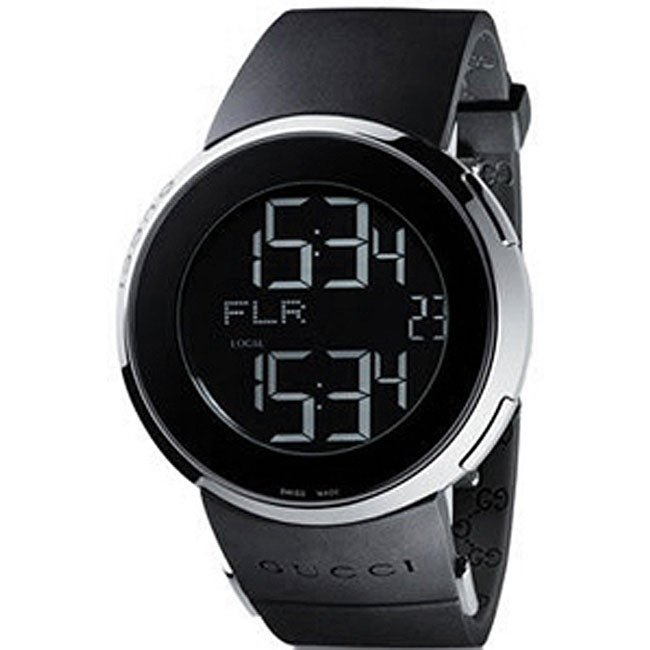 Gucci 114 I-Gucci Men's Digital Strap Watch