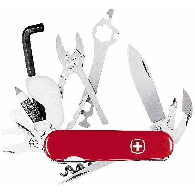Swiss Army Large Mountain Bike 23-tool Knife