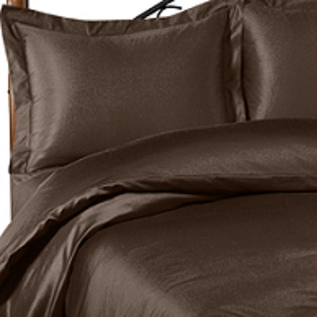 Chocolate 600 Thread Count Duvet Cover (Full/Queen) - Thumbnail 0