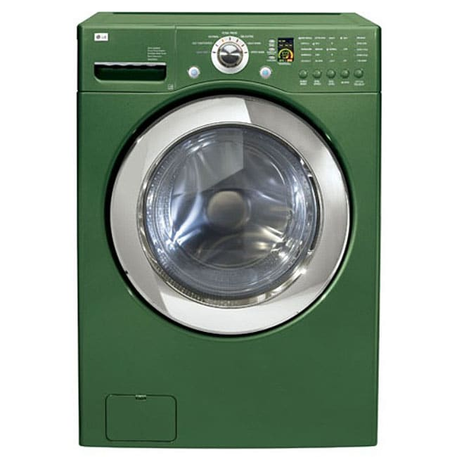 Lg 4 Cubic Foot Emerald Green Front Load Washer Free