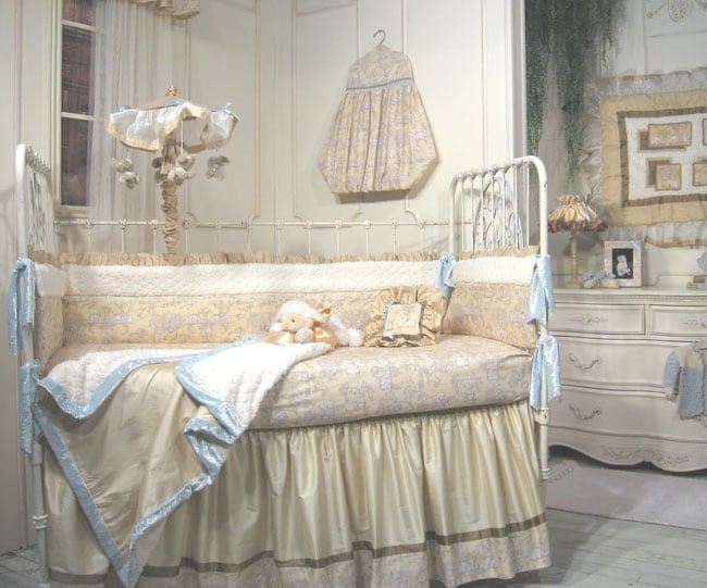 jessica mcclintock baby serengeti 5piece crib set - Jessica Mcclintock Bedroom Furniture