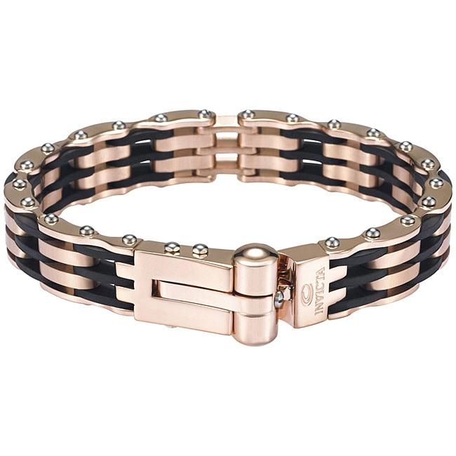 Invicta Men S 18k Rose Goldplated Bracelet Free Shipping