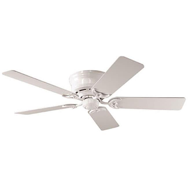 Hunter 52-inch Low Profile White Ceiling Fan (Refurbished)
