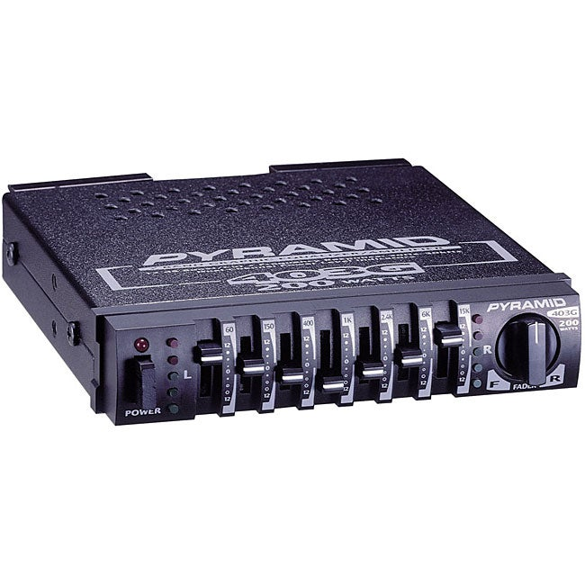 Pyramid 403g Graphic Equalizer Amplifier - Free Shipping On Orders Over  45