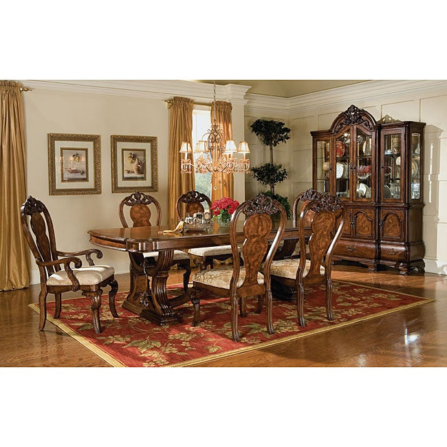 Kathy Ireland Dining Room Furniture: Kathy Ireland Cathedral Arm Chairs (Set Of 2)
