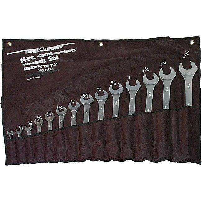 Truecraft 14-piece Combination Wrench Set