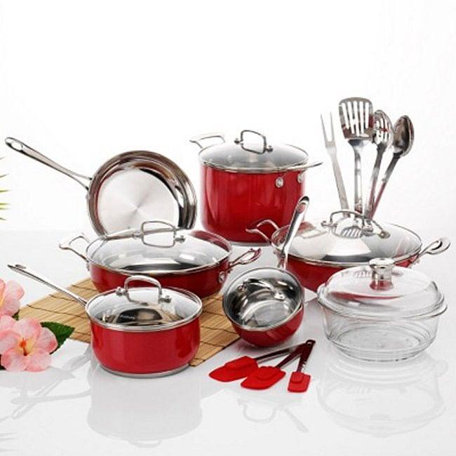 Cucina Fusion: Roy's Fusion 20-piece Aloha Edition Cookware Set