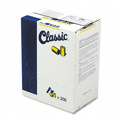 Classic Ear Plugs in Pillow Pak (200 per Box)