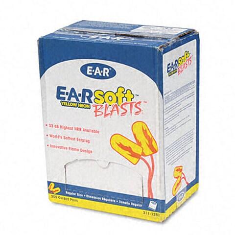 EARsoft Yellow Neon Blasts Soft Foam Earplugs