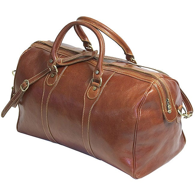 Floto Leather Milano Duffle Bag