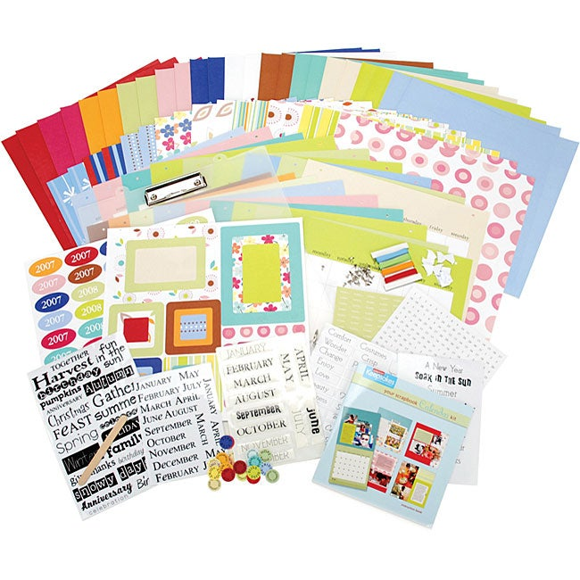 Create Your Own 18-month Calendar Kit