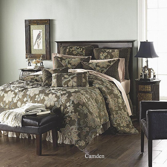 Camden Luxury Queen 4-piece Comforter Set