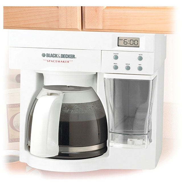 Shop Black Amp Decker Spacemaker 12 Cup Coffee Maker Free