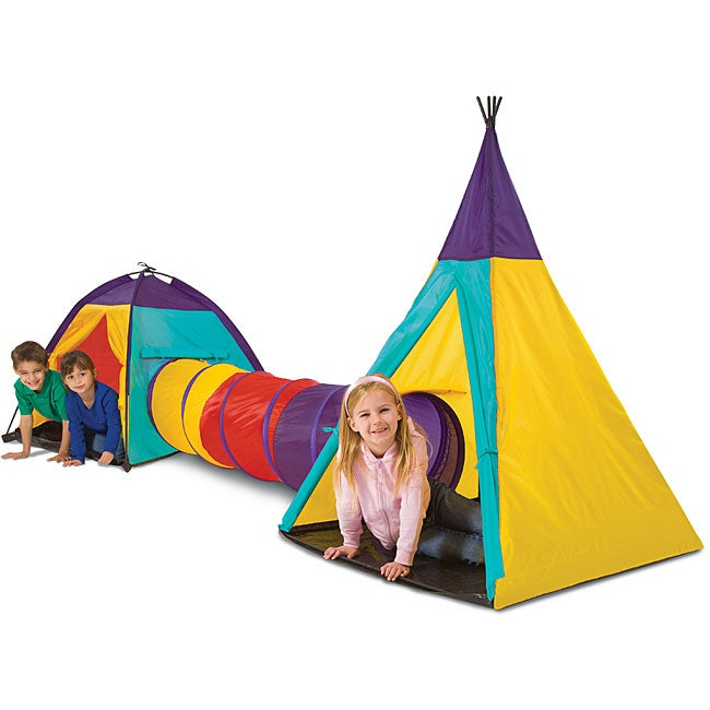 Toys for Tots: Blue Hat Big Adventures Play Tent