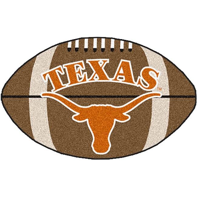Fanmats NCAA University of Texas Football Area Rug
