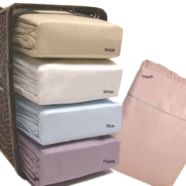 Cotton Sateen 250 Thread Count 6-piece Sheet Set