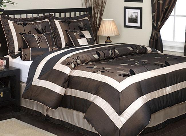 Pastora 7-piece Patchwork Luxury Comforter Set