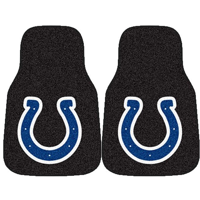 Fanmats Indianapolis Colts 2-piece Car Mat Set - Thumbnail 0