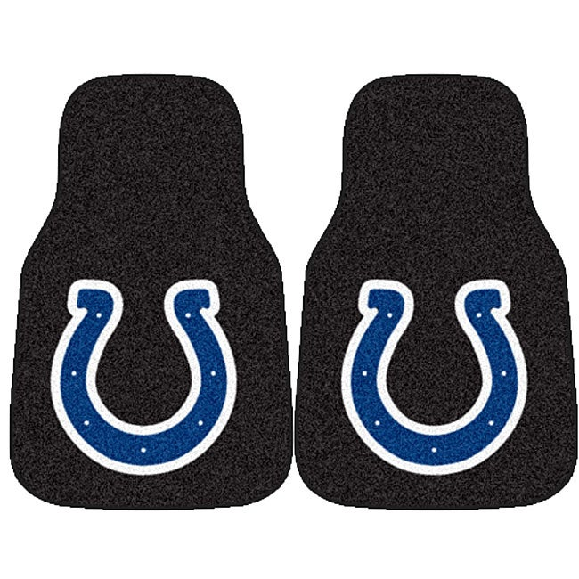 Fanmats Indianapolis Colts 2-piece Car Mat Set
