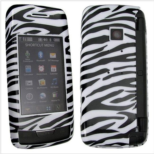 Zebra Snap-On Case for LG VX10000 Voyager