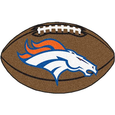 Denver Broncos 22x35 Football Mat