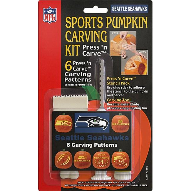 Seattle Seahawks Pumpkin Carving Kit