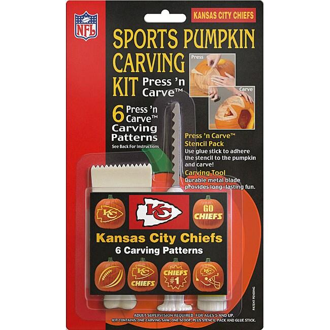 Kansas City Chiefs Pumpkin Carving Kit