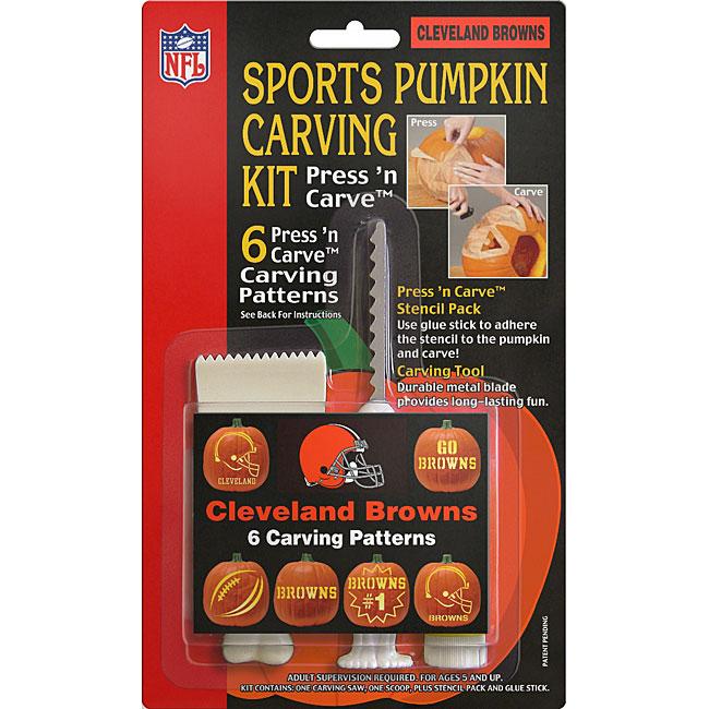 Cleveland Browns Pumpkin Carving Kit