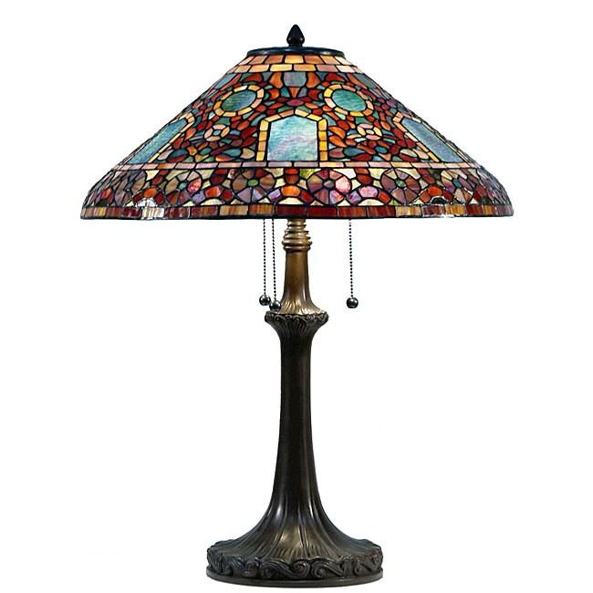 Shop Tiffany Style Arizona Table Lamp Free Shipping