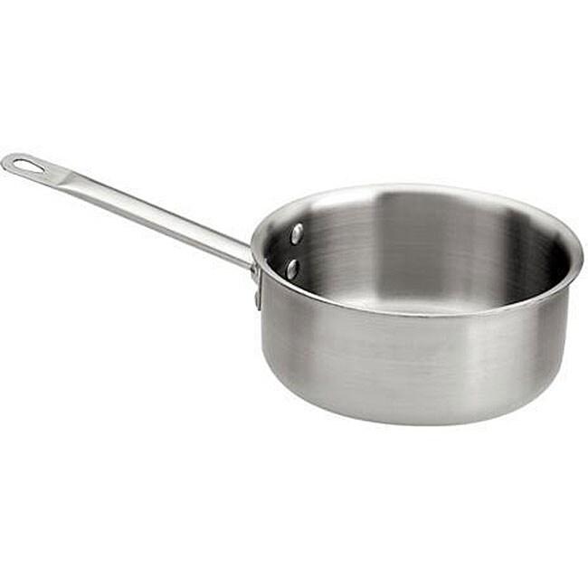 Shop Paderno 1 5 Quart Stainless Steel Sauce Pan Free