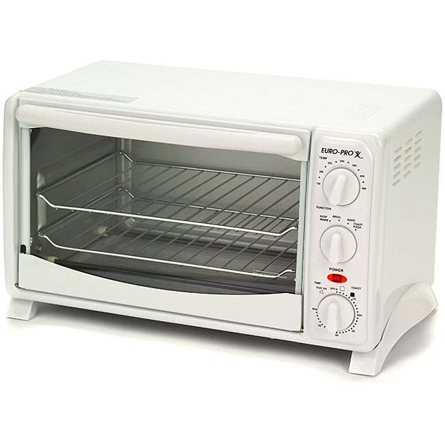 Euro Pro 6 Slice Toaster Oven Refurbished Free