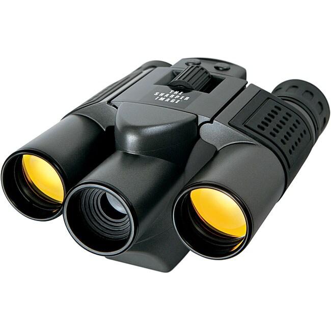 Sharper Image 10 x 25 Digital UV Binoculars/ Camera